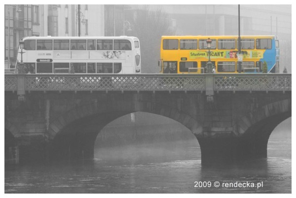 Dublin we mgle / Dublin in fog, 28.11.2009
