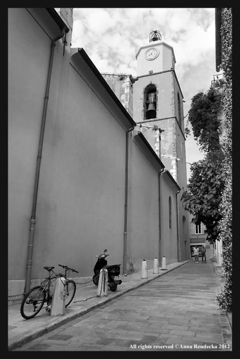 Trzydziesty ósmy rower - Lazurowe Wybrzeże, Saint Tropez 2012